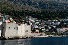 Fort van Dubrovnik Stock Foto's