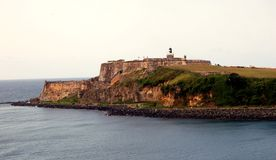 Fort van Gr Morro royalty-vrije stock foto's