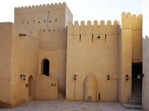 Fort van Nizwa, Oman. stock foto's