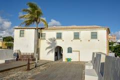 Fort van Santa Maria in Salvador Bahia, Brazilië royalty-vrije stock fotografie