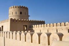 Fort van Sur, Oman. Het Midden-Oosten stock foto