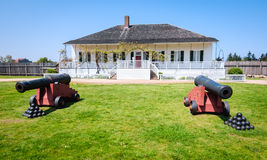 Fort Vancouver National Historic Site Royalty Free Stock Photo