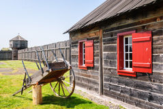 Fort Vancouver National Historic Site Royalty Free Stock Photography