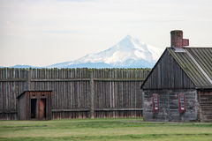 Fort Vancouver, Washington Royalty-vrije Stock Afbeelding
