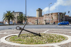 Fort Vicchia, Livourne Photos stock