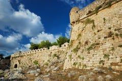 Fort von Rethymnon lizenzfreie stockbilder