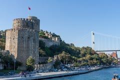 Fort von Rumelihisari, Istambul lizenzfreie stockfotografie