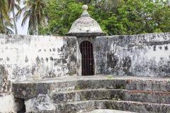 Fort von San Fernando de Bocachica Stockfotografie