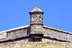 Fort von San Miguel I Stockbild
