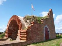 Fort von St Peter, Maastricht, die Niederlande stockfotografie