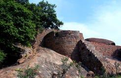 Fort von tirumayam Stockfotografie