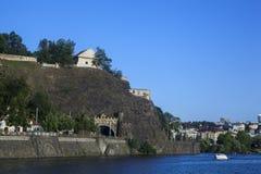 Fort Vyšehrad stock image
