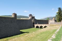 Fort w Huesca Spain Fotografia Stock