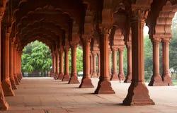 fort w pałacu czerwonej Obrazy Royalty Free