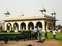 fort wśrodku czerwieni Fotografia Royalty Free