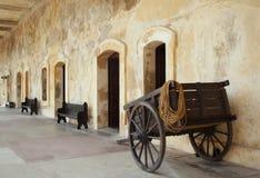 Fort-Wagen Lizenzfreies Stockfoto