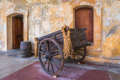 Fort Wagon Royalty Free Stock Photos