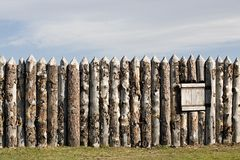 Fort wall Royalty Free Stock Photo