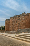 Fort wall Bosra al Sham Stock Photography