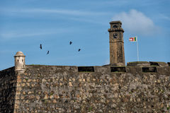 Fort wall of Galle Stock Photos