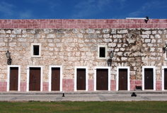 Fort Wall In Havana Cuba Stock Image