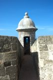 Fort wall turret royalty free stock photos