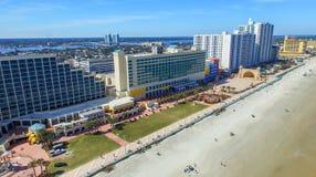 FORT WALTON FL, LUTY, - 2016: Powietrzny miasto widok Fort Walton ja Fotografia Stock