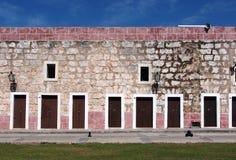 Fort-Wand in Havana Cuba Stockbild