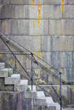 Fort Waren Stairs Stockfoto