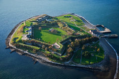 Fort Warren Royaltyfri Foto