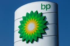 Fort Wayne Około Sierpień 2018 -: BP Detaliczna Benzynowa stacja BP jest Jeden Światowy ` s Prowadzi Zintegrowanych firma naftowo obrazy royalty free