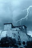Fort and weather Royalty Free Stock Photo