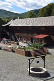 Fort William Henry in Lake George, New York. (USA Stock Photography