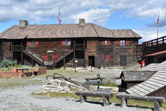 Fort William Henry in Lake George, New York. (USA Royalty Free Stock Image