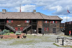 Fort William Henry in Lake George, New York. (USA Stock Photo