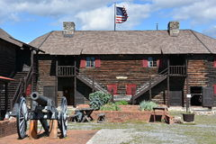 Fort William Henry in Lake George, New York. (USA Stock Images