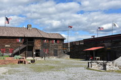 Fort William Henry in Lake George, New York. (USA Royalty Free Stock Images