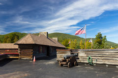 Fort William Henry Museum and Restoration Royalty Free Stock Photo