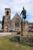 Fort William jest miasteczkiem w zachodnim Szkockim Scotland jednoczącym królestwie Europe obraz stock