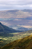Fort william from nevis range Stock Photos