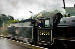 Fort William, Scotland -  August 17 2005. Old steam train The Ja Stock Photo