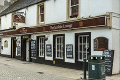 The Jacobite Lounge bar restaurant Fort William Scotland. Stock Images