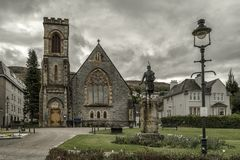 Town Fort William, Scotland royalty free stock images