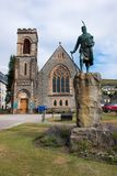 Fort William is a town in the western Scottish scotland united kingdom europe. Fort William is a town in the western Scottish Highlands, on the shores of Loch stock image