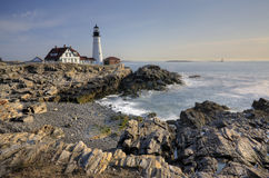 Fort Williams Lighthouse Stock Photography
