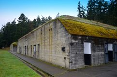 Fort Worden Bunker Royalty Free Stock Photo