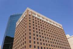 Архитектура стиля Арт Деко в Fort Worth, США Стоковая Фотография RF