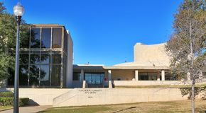 Fort Worth Community Arts Center, Fort Worth, Texas Stock Image