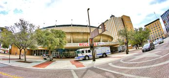 The Fort Worth Convention Center, Fort Worth Texas Royalty Free Stock Images