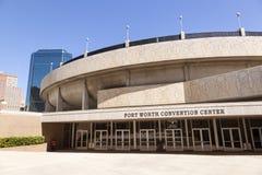 Fort Worth Convention Center Texas, EUA Imagens de Stock